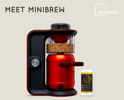 MiniBrew Indiegogo campaign