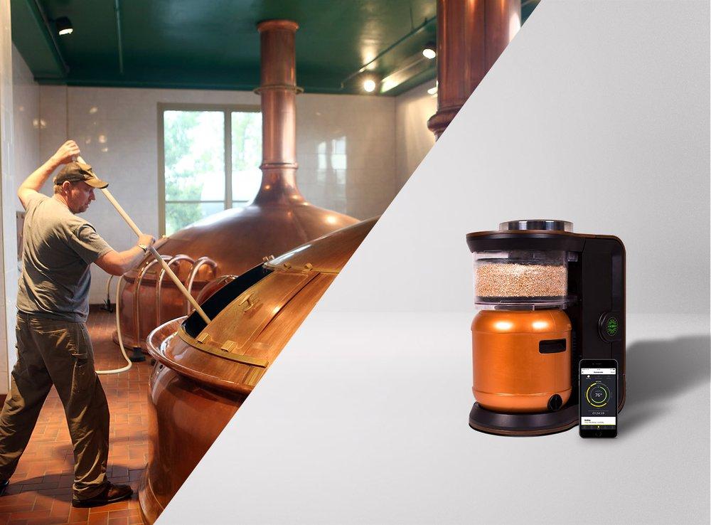 Traditional Vs. MiniBrew Brewing