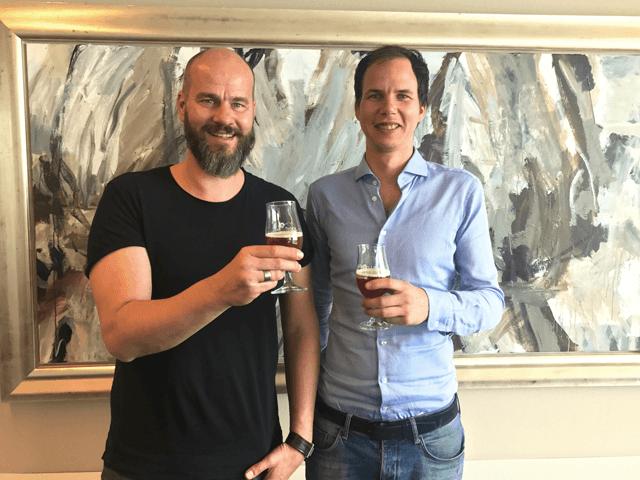 Cofounders Olivier van Oord and Bart van de Kooij