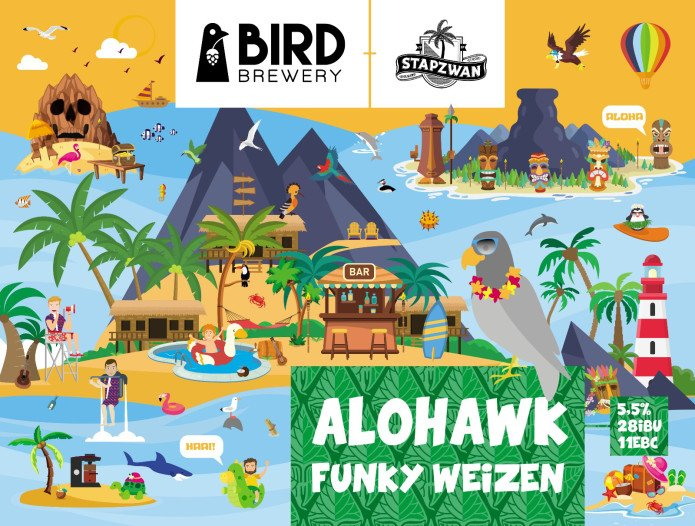 """Collab Winner """"Alohawk Funky Weizen"""""""