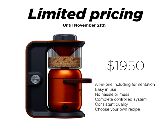 MiniBrew Limited pricing offer