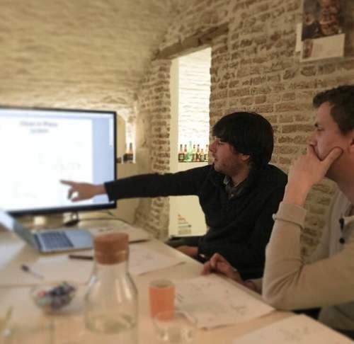 MiniBrew team meeting