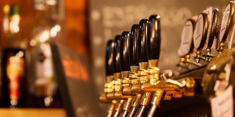 Tap Handles Draft Beer