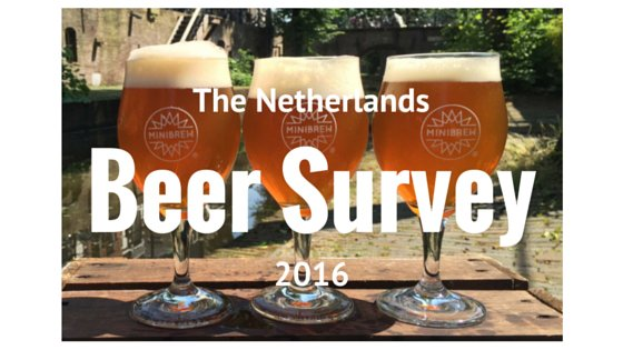National Beer Survey The Netherlands 2016