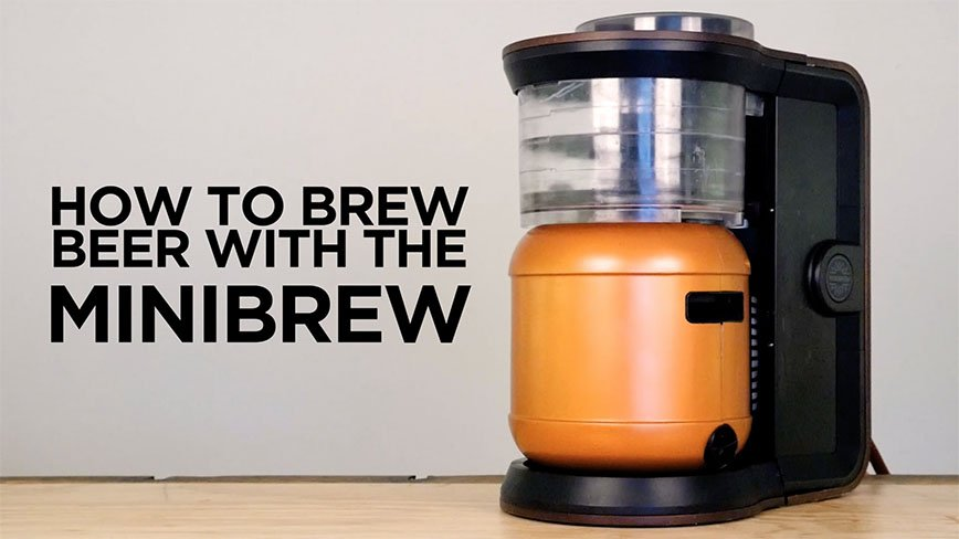how the minibrew beer brewing machine works minibrew