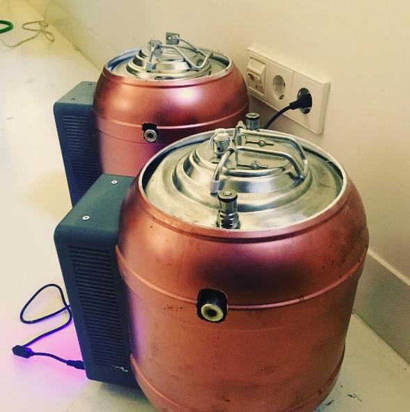 MiniBrew kegs