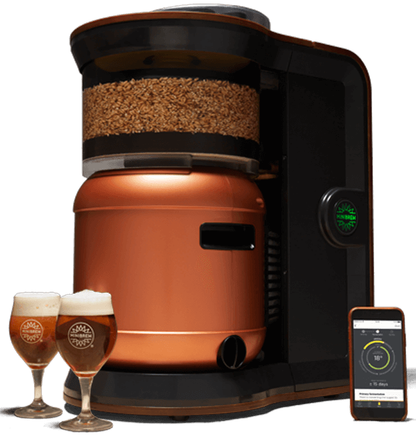 fully automatic beer brewing machine minibrew